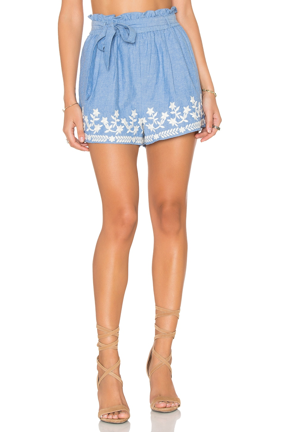 Tularosa Kaya Short in Chambray