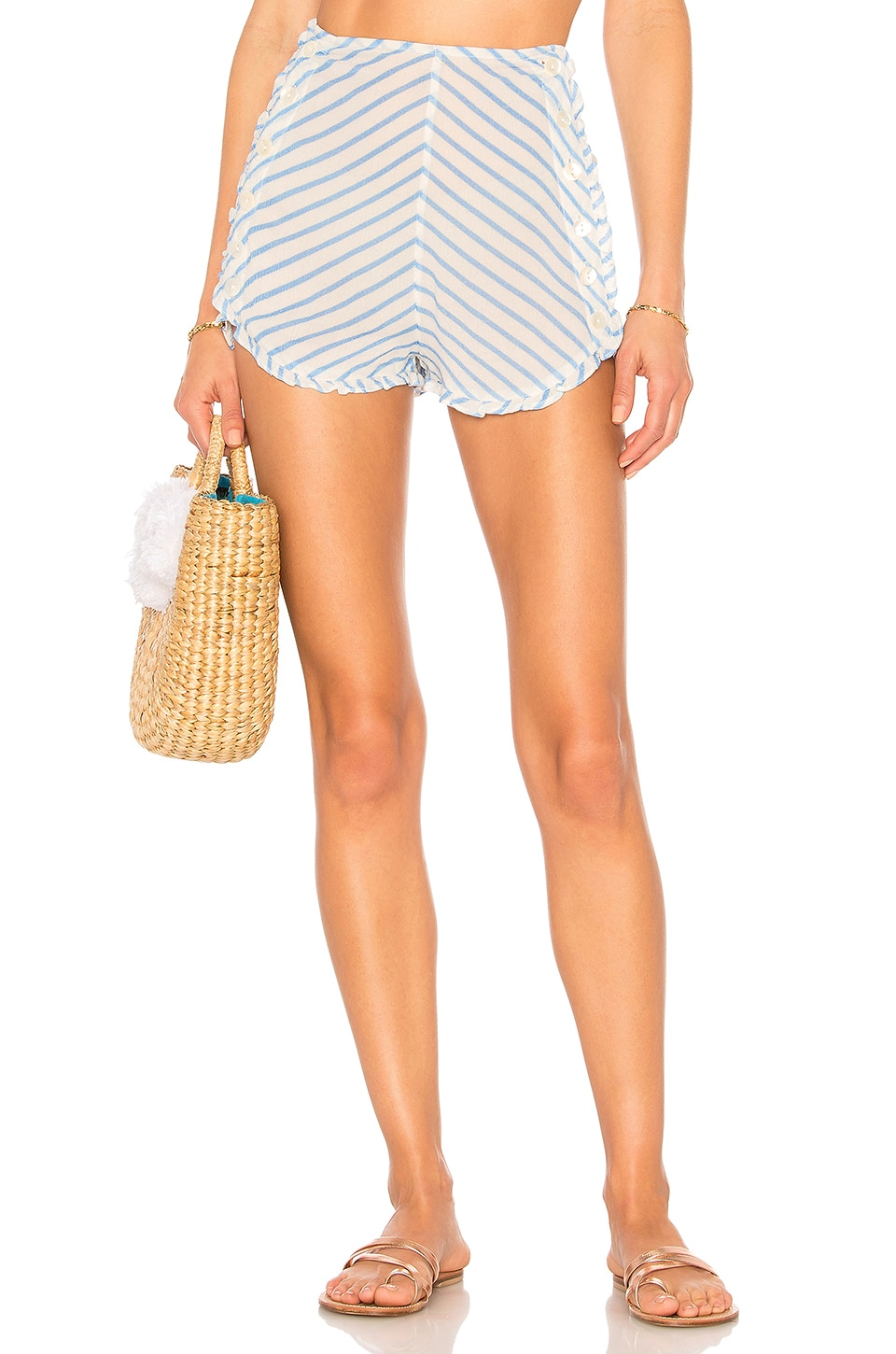 Tularosa Ray Short in Periwinkle Blue