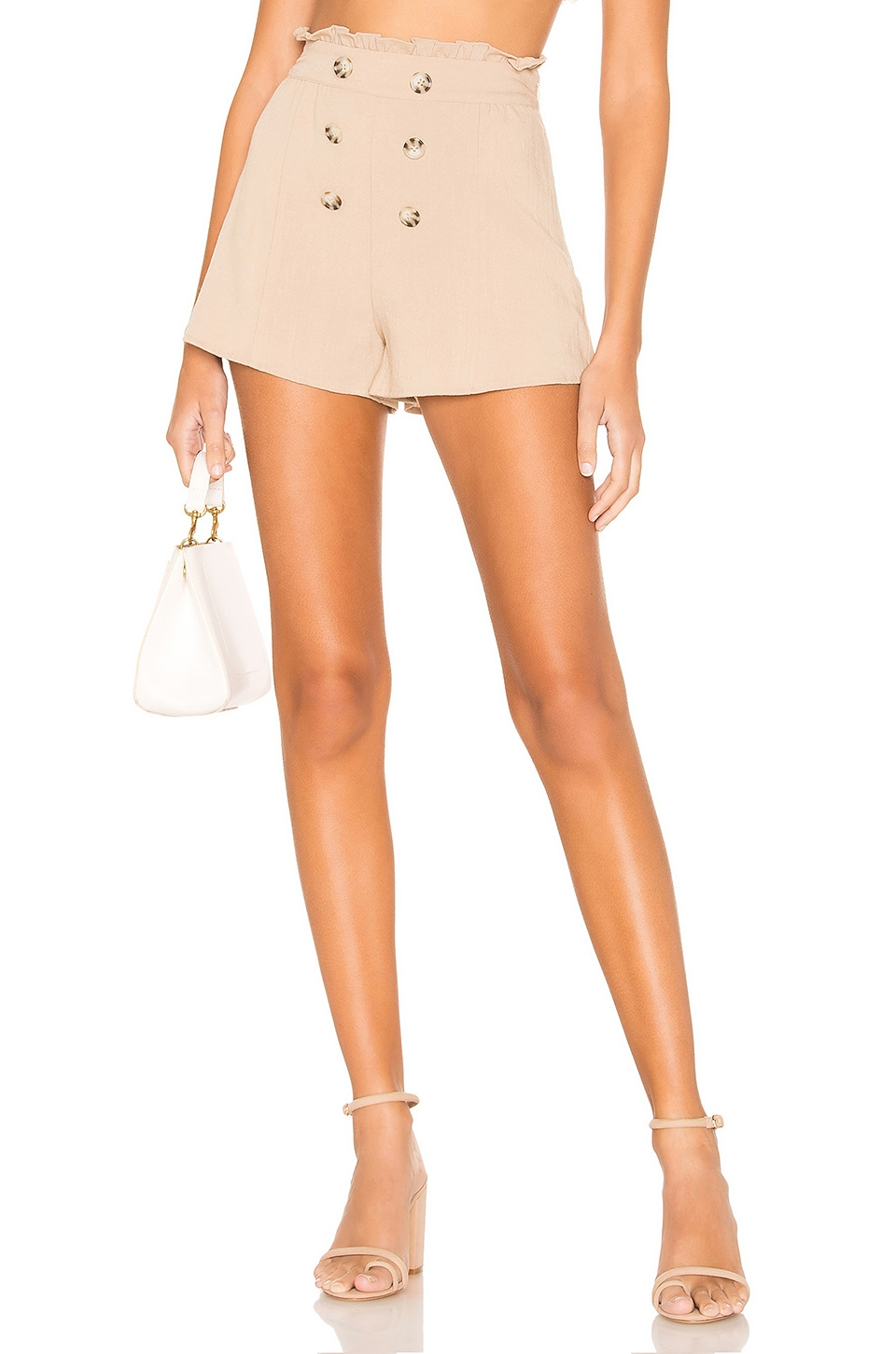 Tularosa Vikki Shorts in Khaki