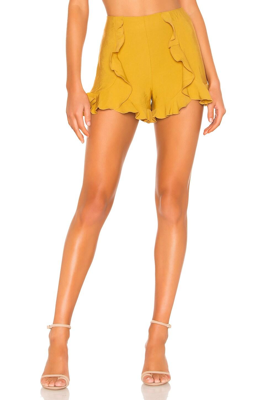 Tularosa Spellbound Shorts in Mustard