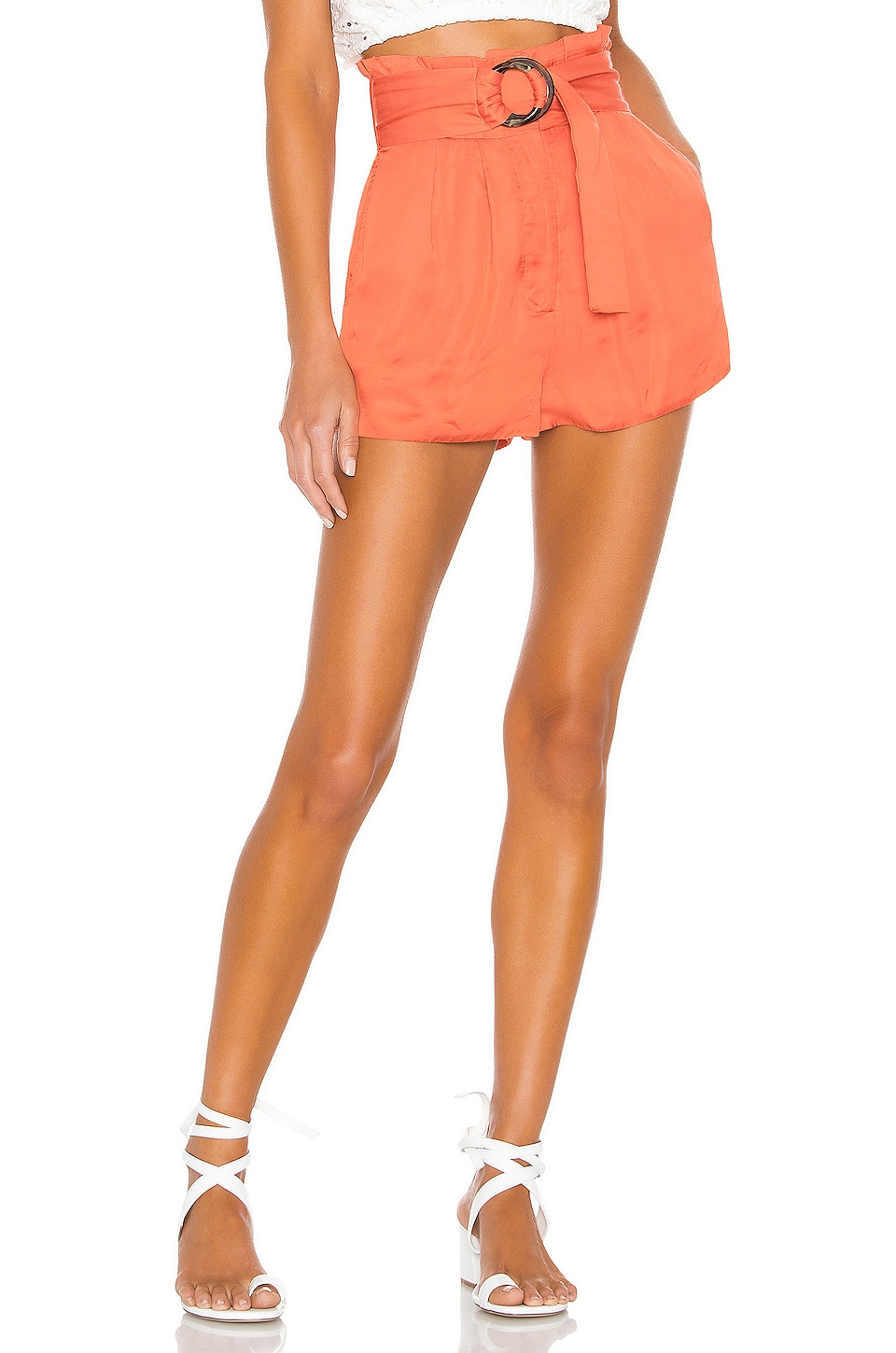 Tularosa Greyson Short in Salmon