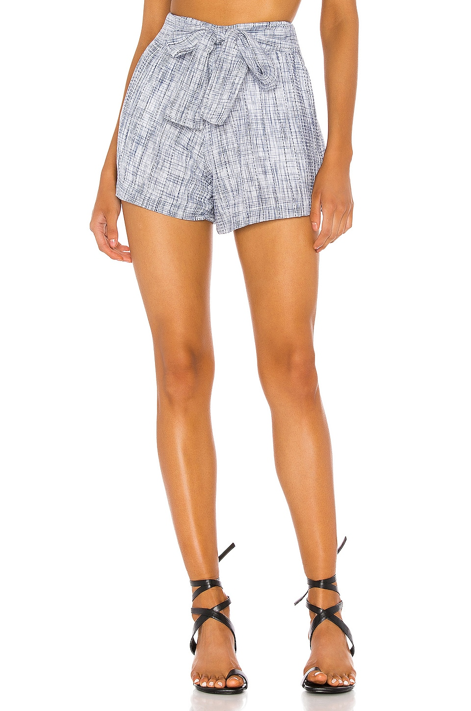 Tularosa Claire Short in Deep Blue