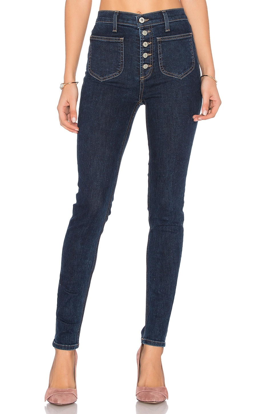 Nora High Rise Jean by Tularosa