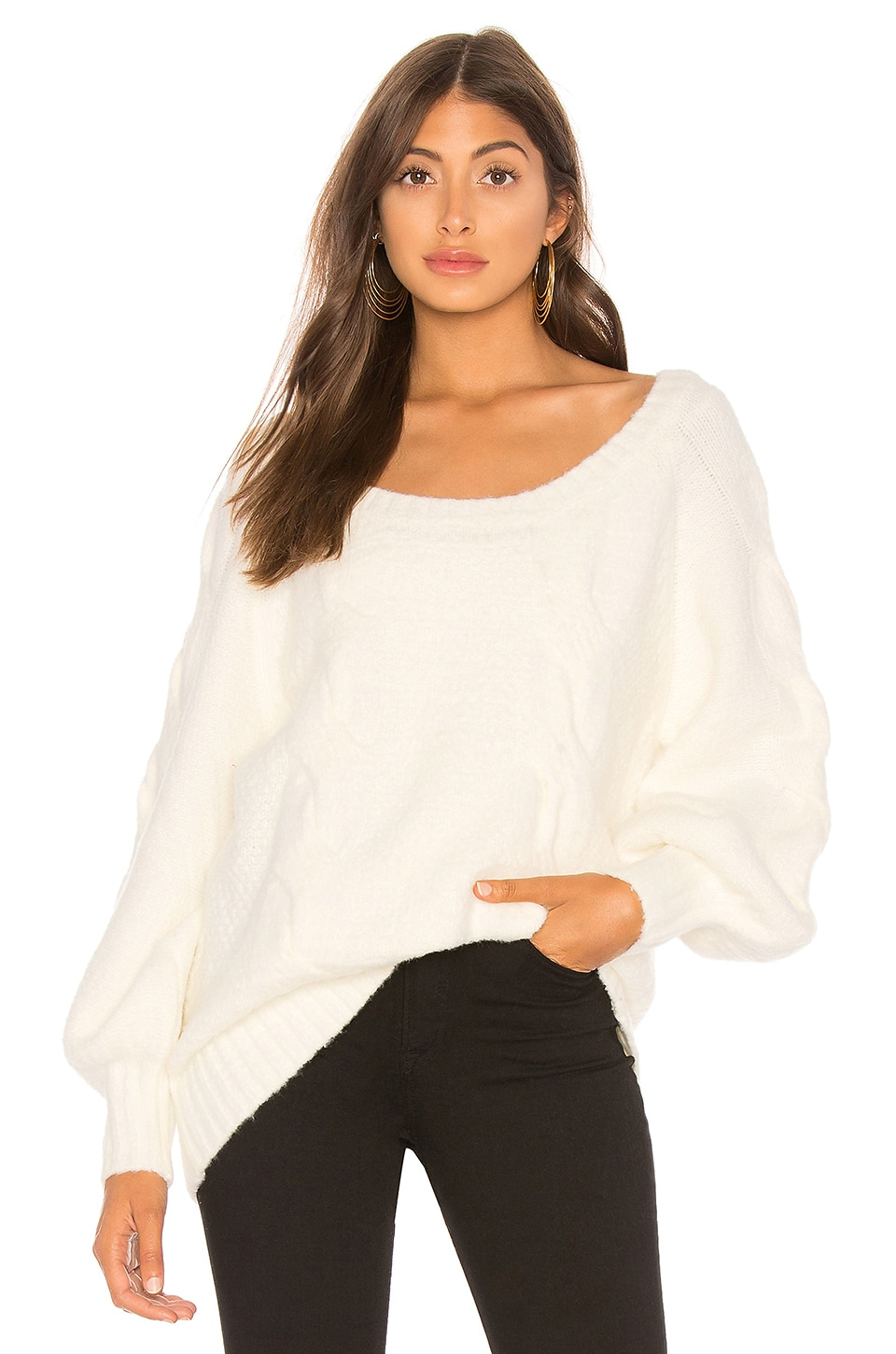 Tularosa Cloud Sweater in Ivory