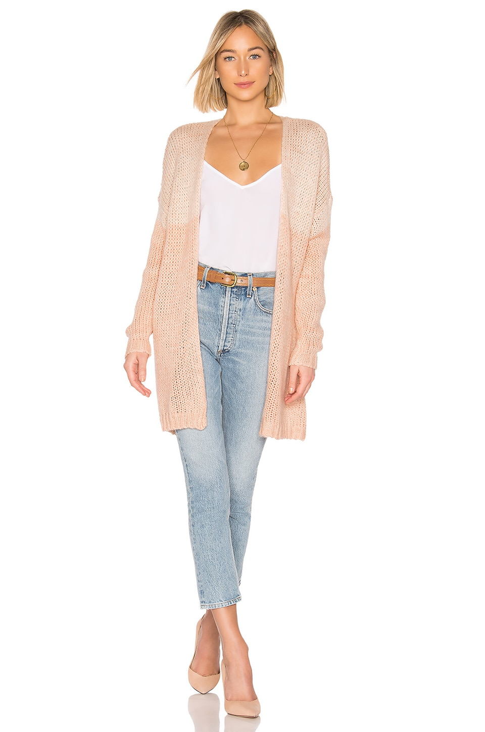 Tularosa Payson Duster in Blush Pinks