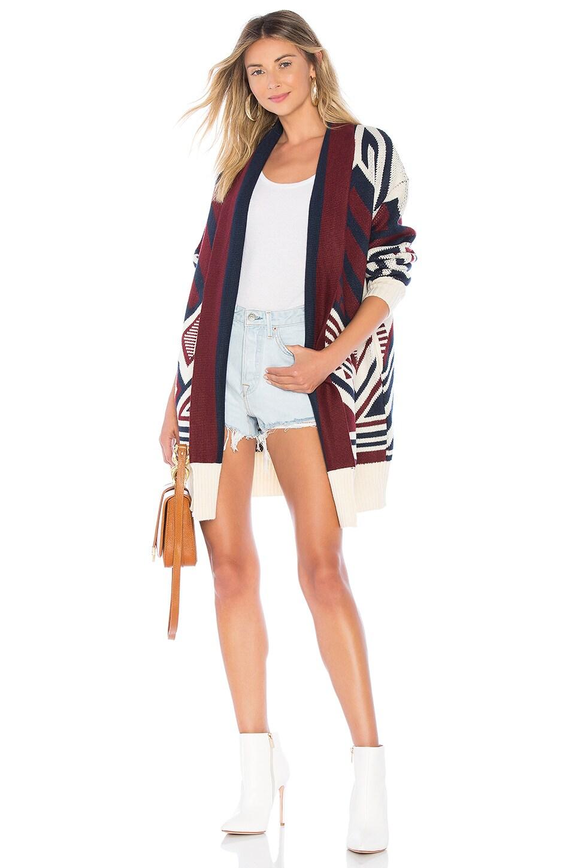 Tularosa Page Sweater Jacket in Multi