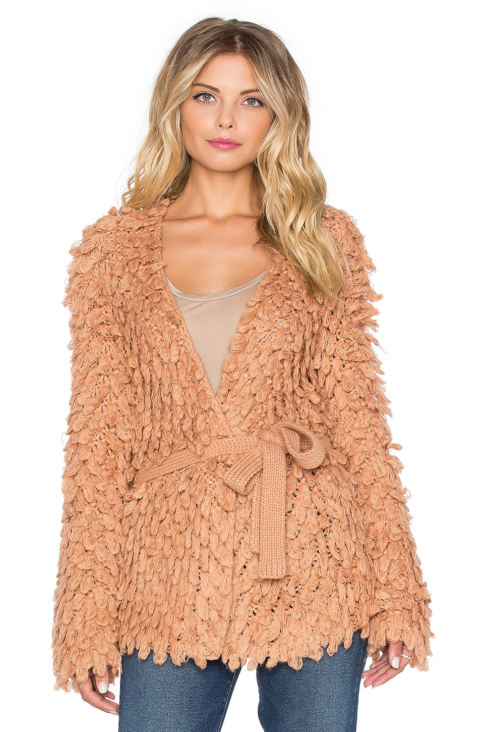 Tularosa Drew Jacket in Pale Blush