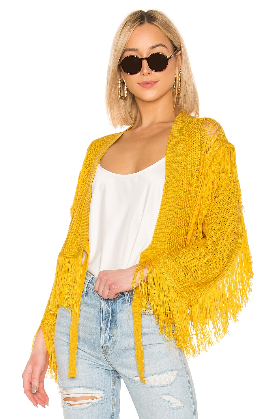 Tularosa Selena Jacket in Yellow