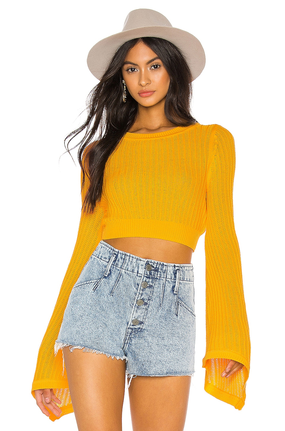 Tularosa Sunshine Sweater in Yellow