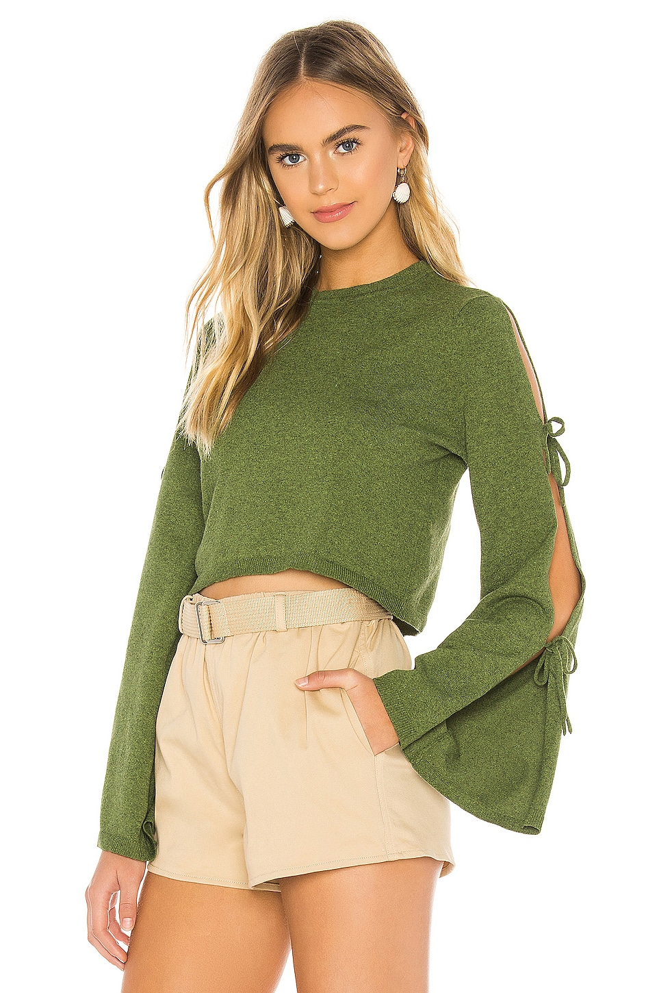 Tularosa Lasso Sweater in Moss