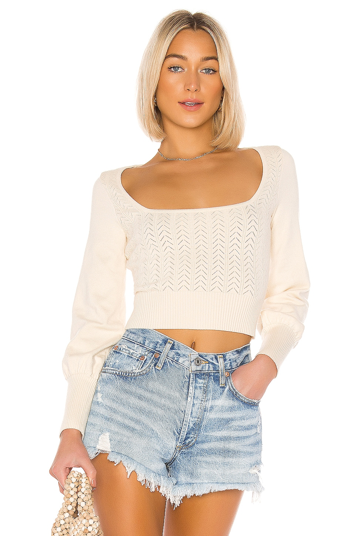 Tularosa Sasha Sweater in White