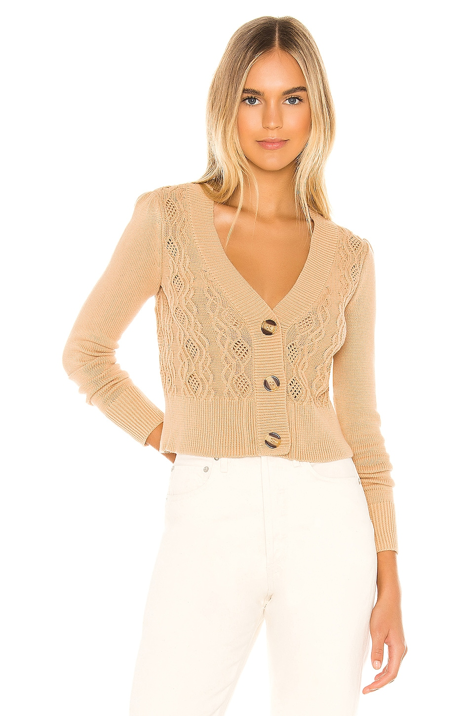 Tularosa Sandy Cardigan in Neutral