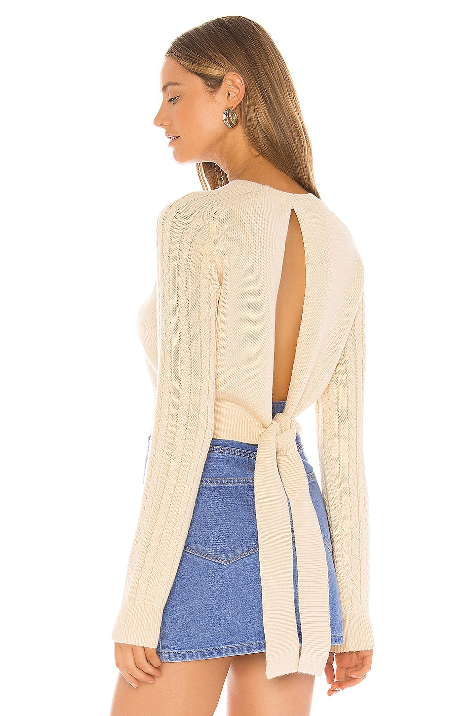 Tularosa Kally Sweater in Cream