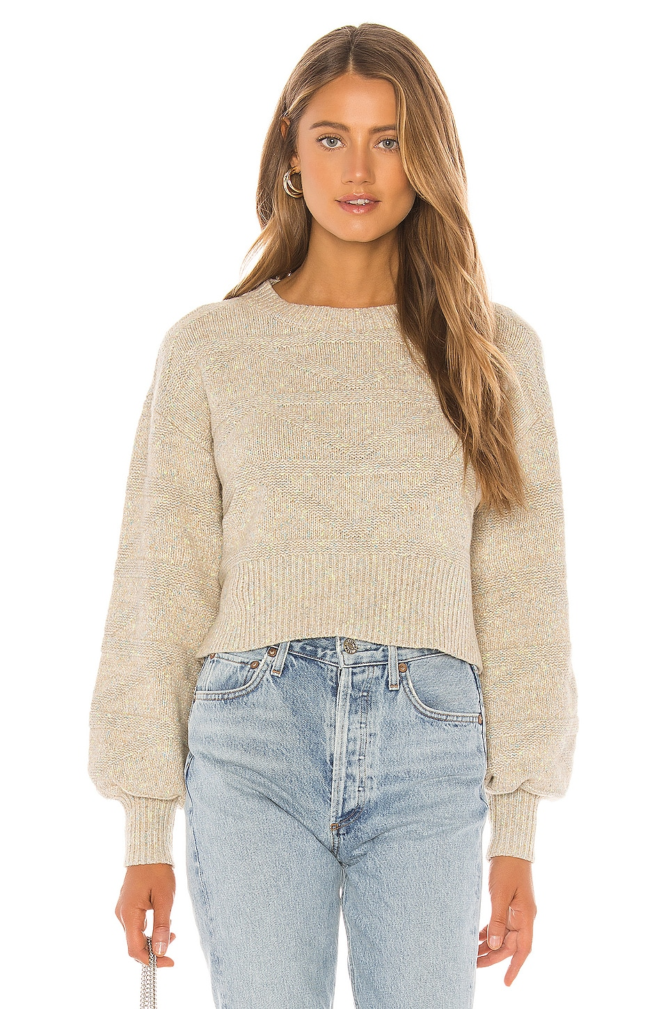 Tularosa Yara Sweater in Multi Neutral