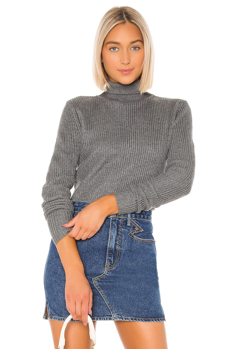 Tularosa Isaac Sweater in Charcoal