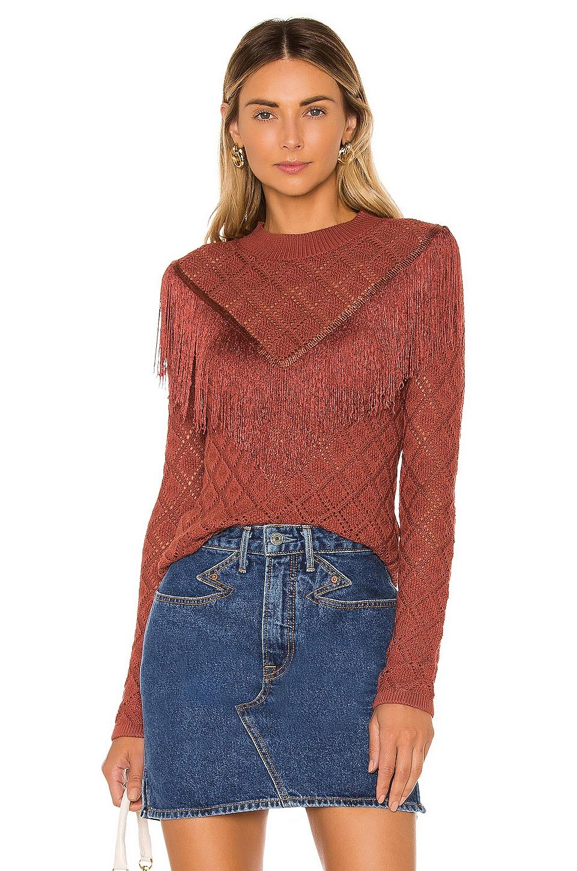 Tularosa Don Pio Sweater in Mulled Rose