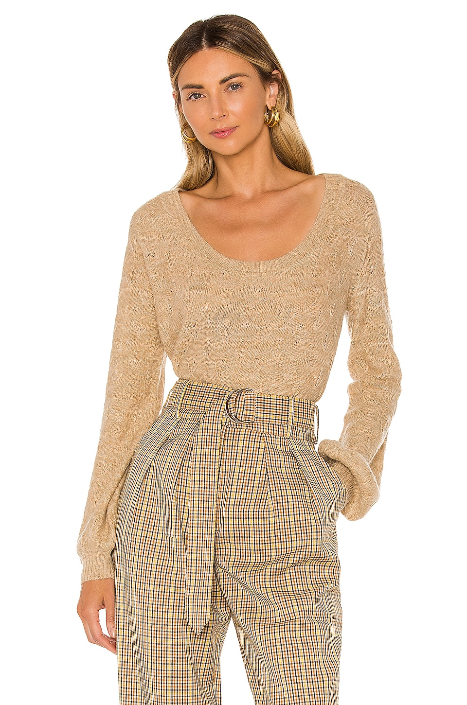 Tularosa Lulu Sweater in Tan