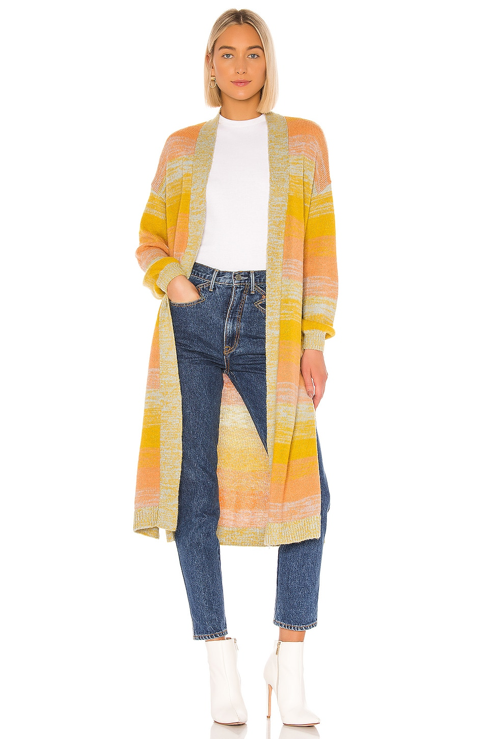 Tularosa Leighton Duster in Sherbet