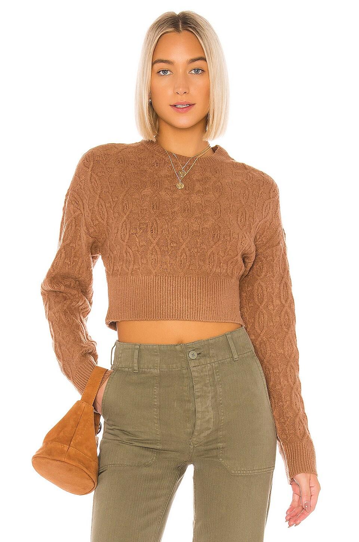 Tularosa Macie Sweater in Brown