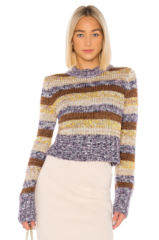 Tularosa Sandie Sweater in Maple Stripe