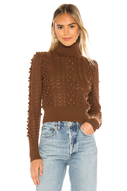 Tularosa Achilles Sweater in Chocolate