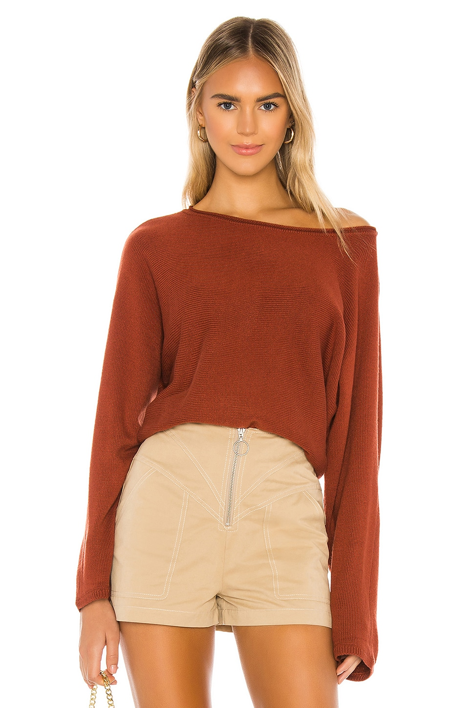 Tularosa Perch Sweater in Brick