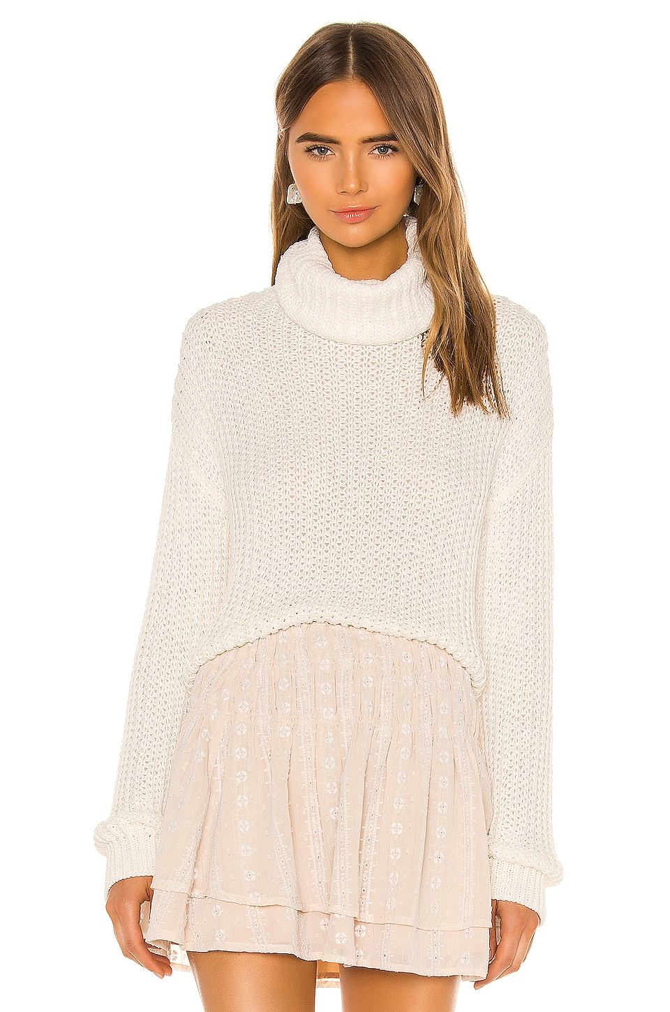 Tularosa Kayla Sweater in Ivory