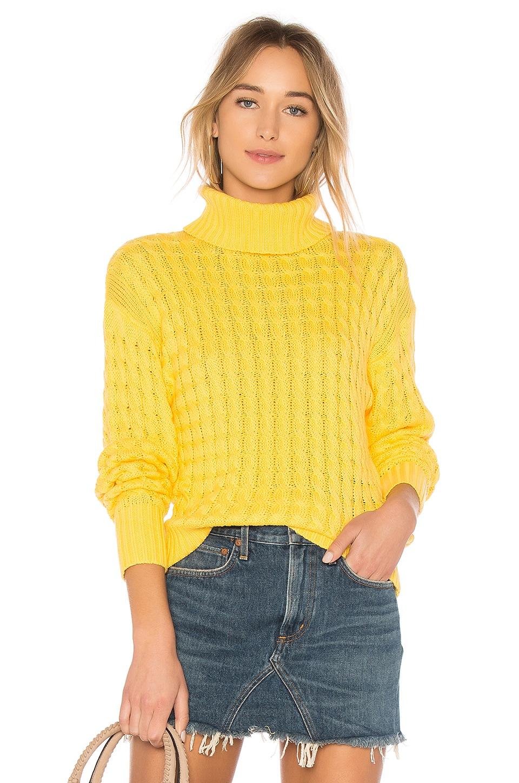 Tularosa Like a Babe Sweater in Yellow