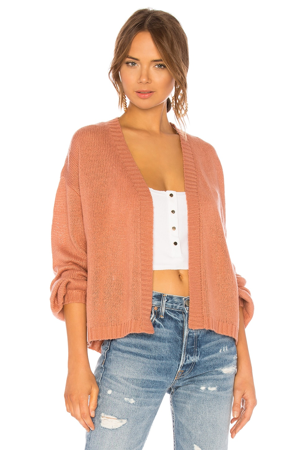 Feather Cardigan