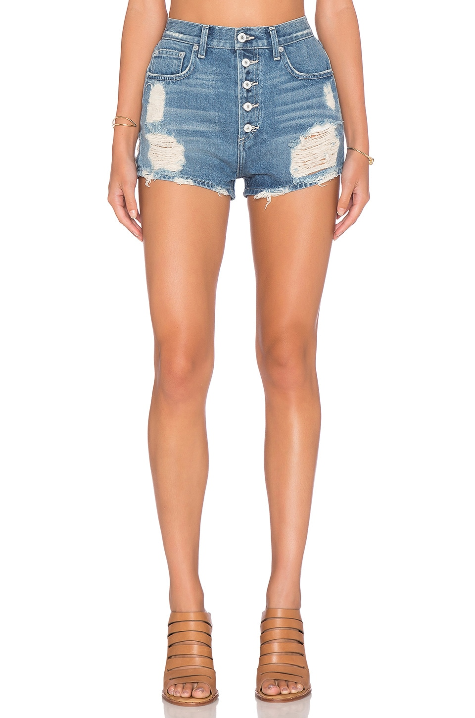 Tularosa Emma High Rise Short in Barcelona