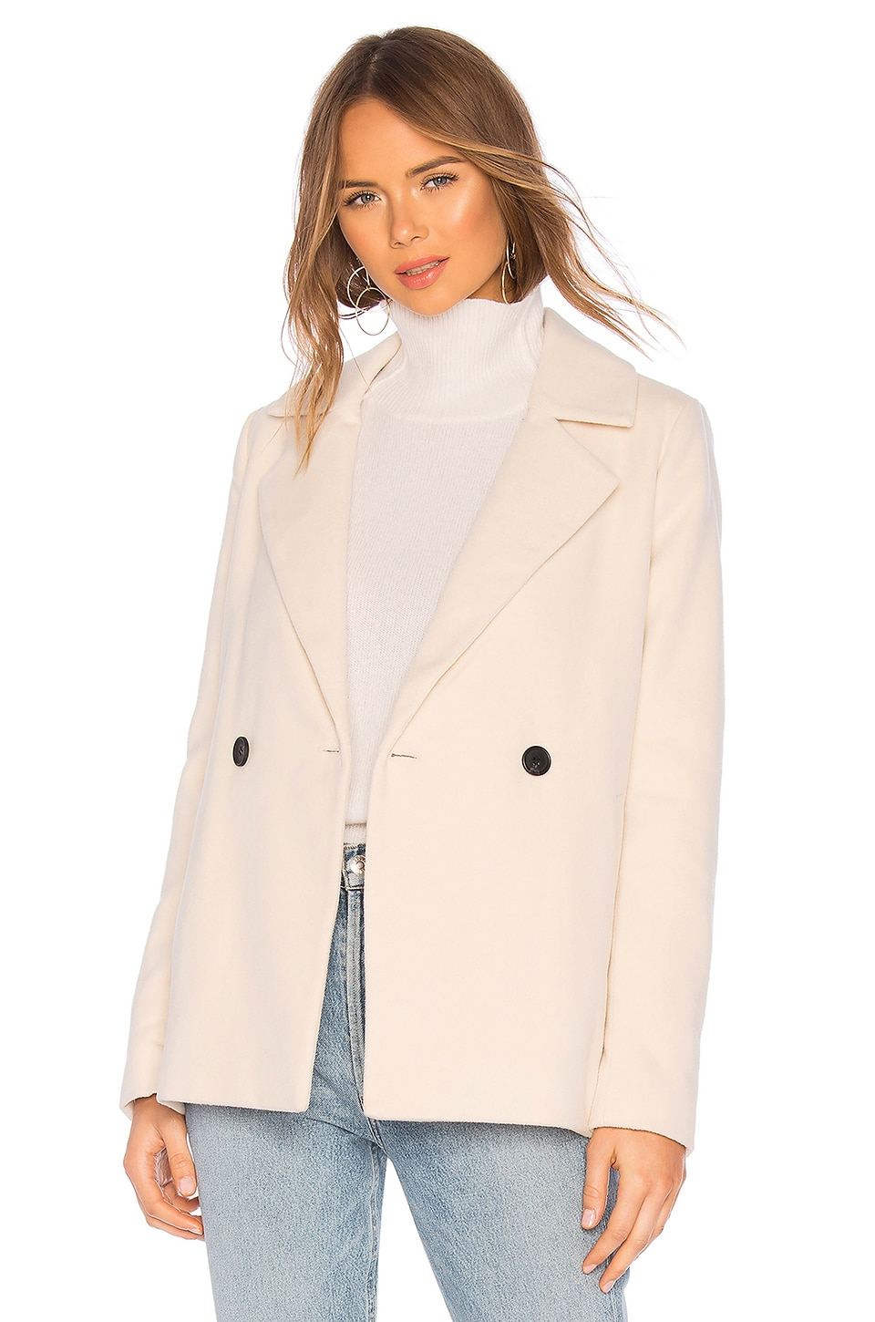 Tularosa Apollo Coat in Ivory