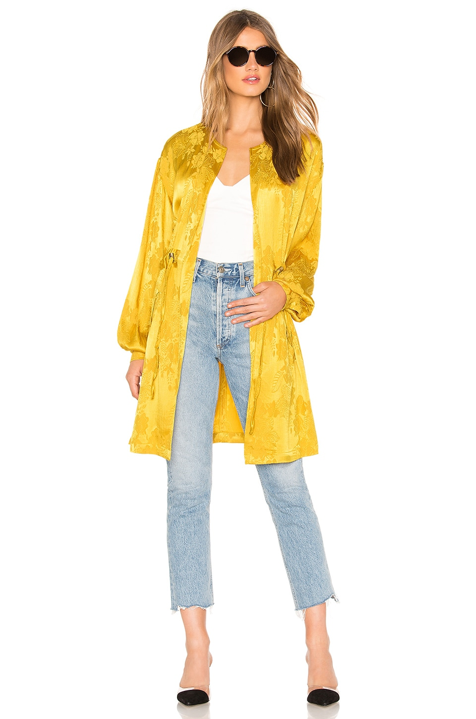 Tularosa Brooke Jacket in Golden Yellow