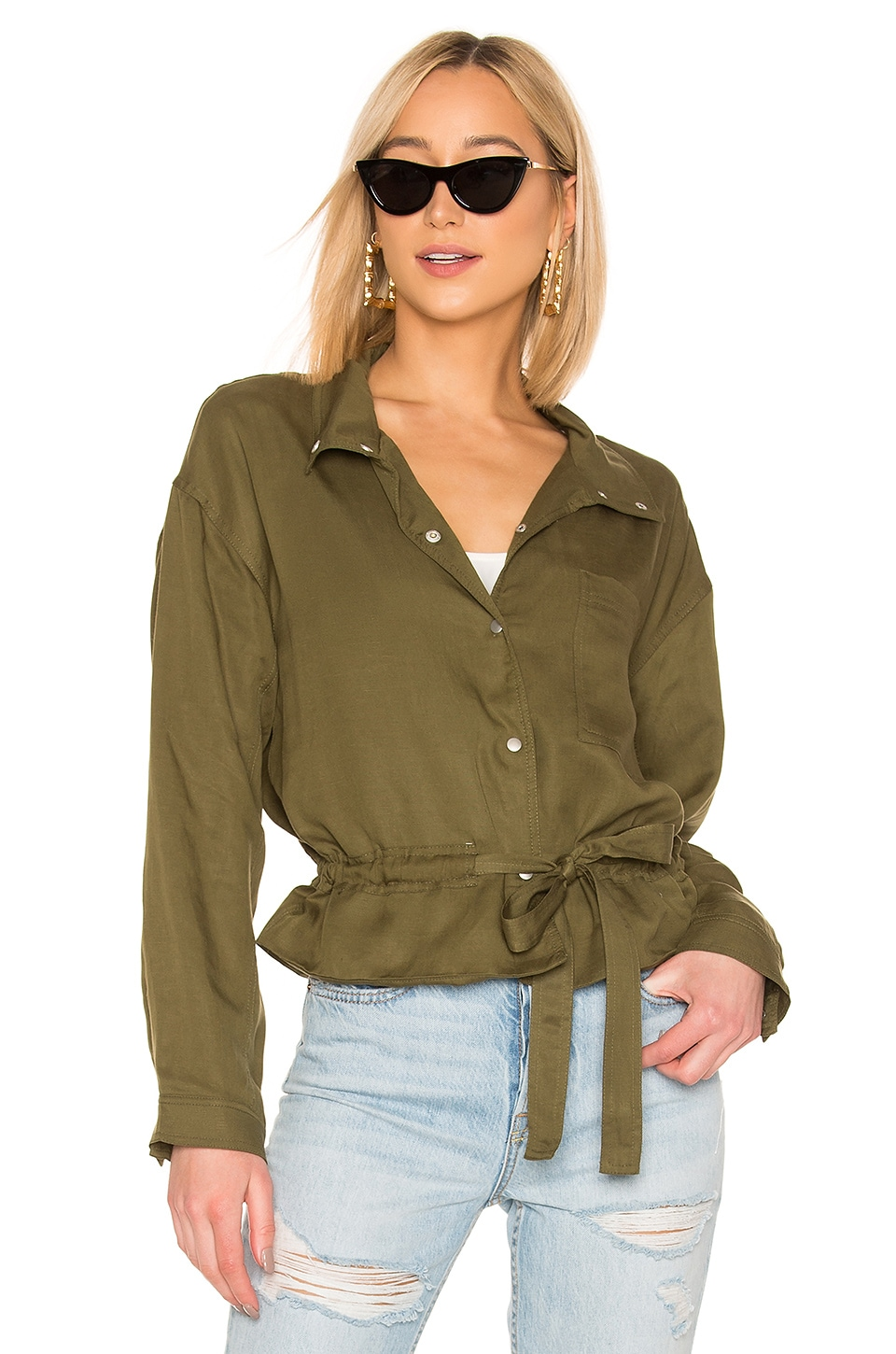 Tularosa Avery Jacket in Green
