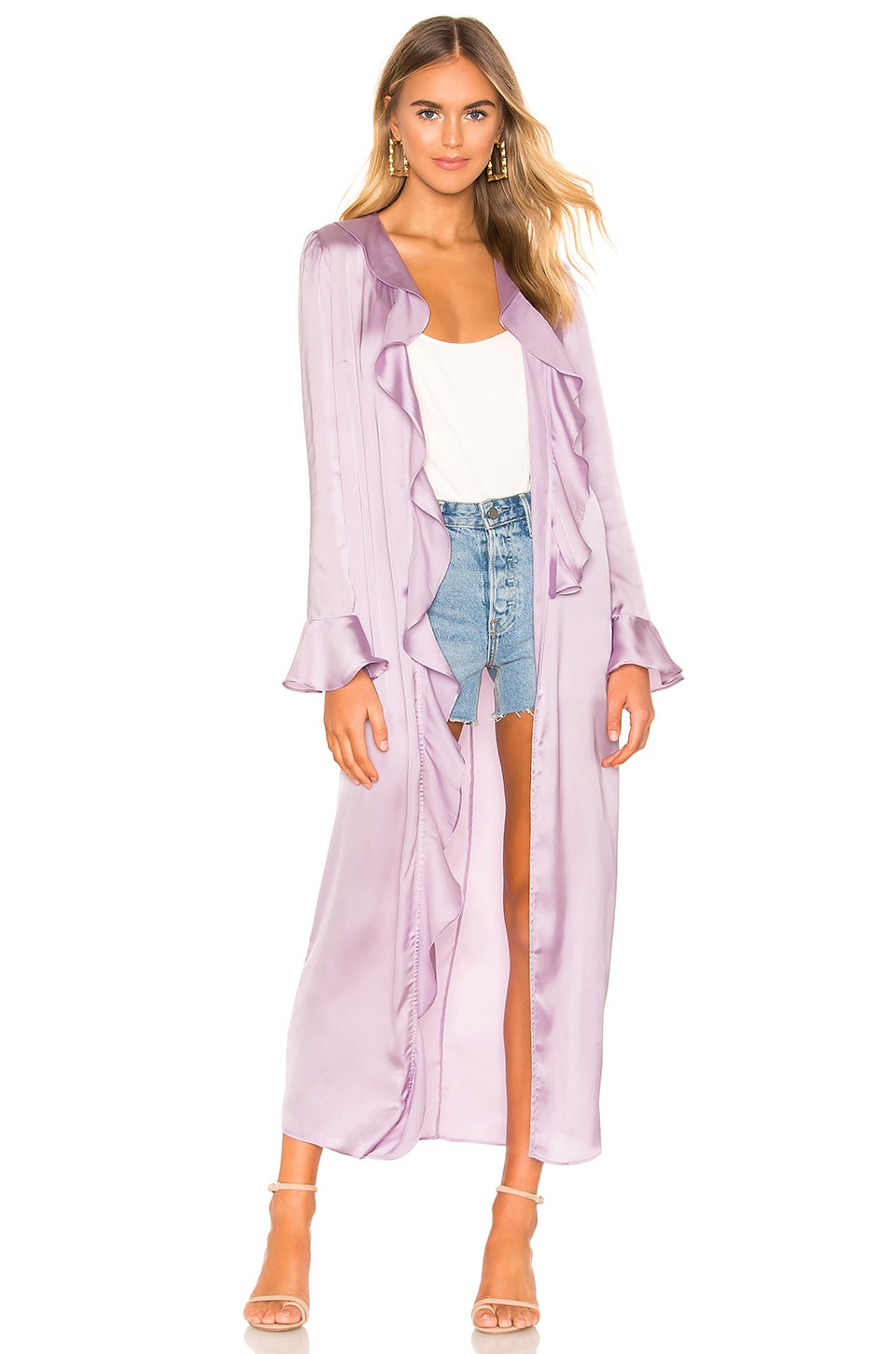 Tularosa Michelle Robe in Lavender