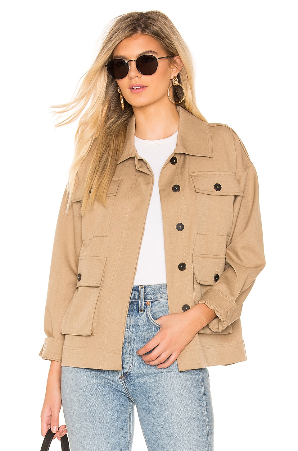 Tularosa Felix Jacket in Khaki