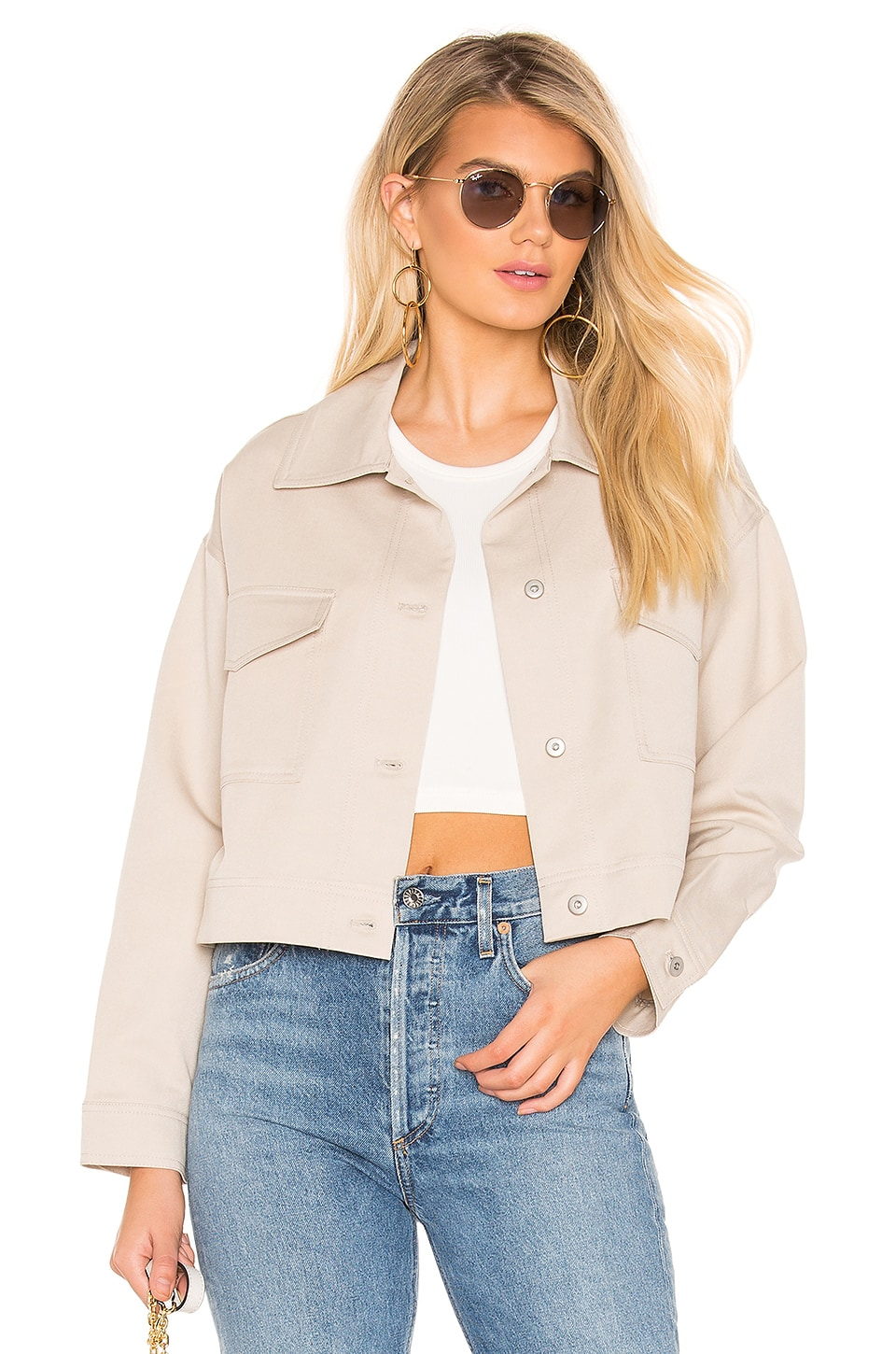 Tularosa Kennedy Jacket in Beige