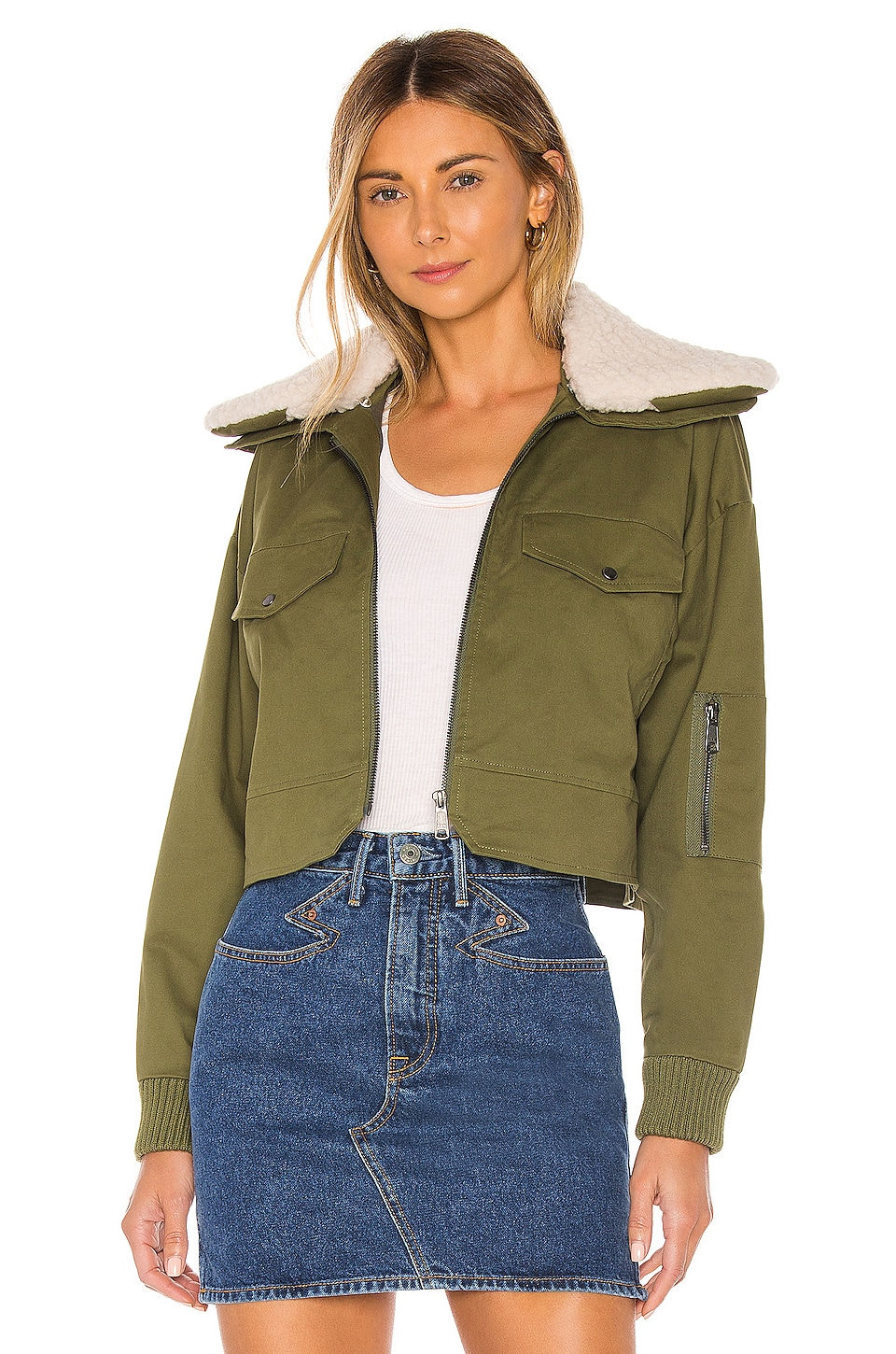 Tularosa Johnnie Jacket in Army Green