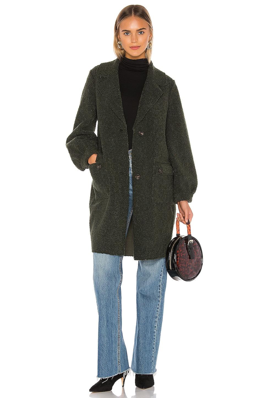 Tularosa Riley Coat in Moss Green