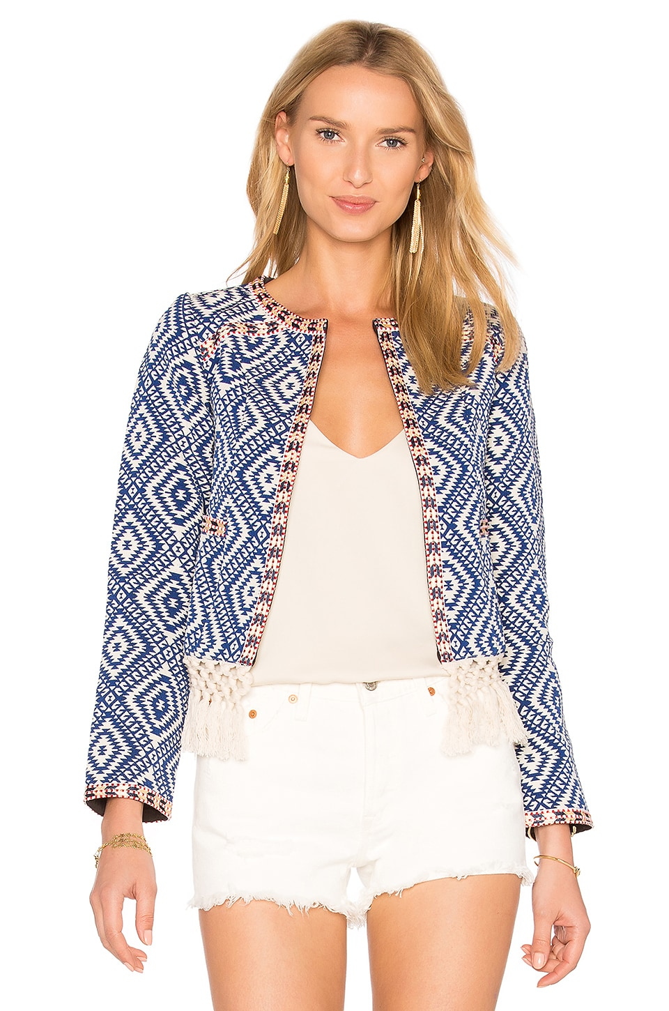 Tularosa Santa Fe Fringe Jacket in Diamondback