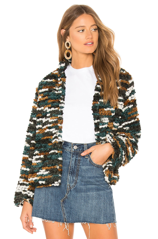 3051eb25f Tularosa Inori Coat in Hunter Green | REVOLVE