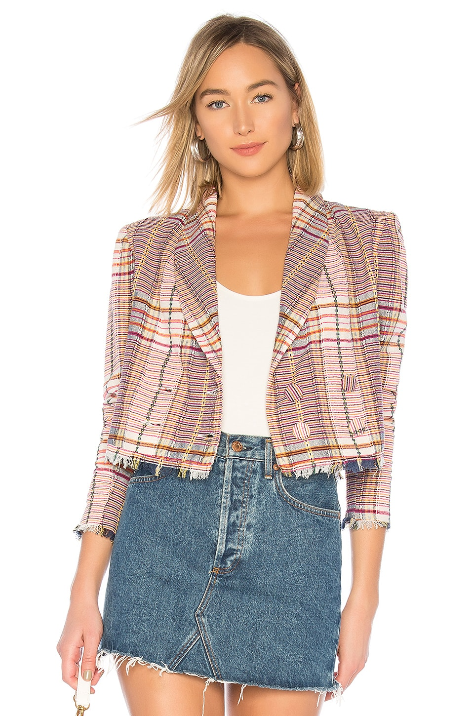 Tularosa Kendra Jacket in Plaid Multi
