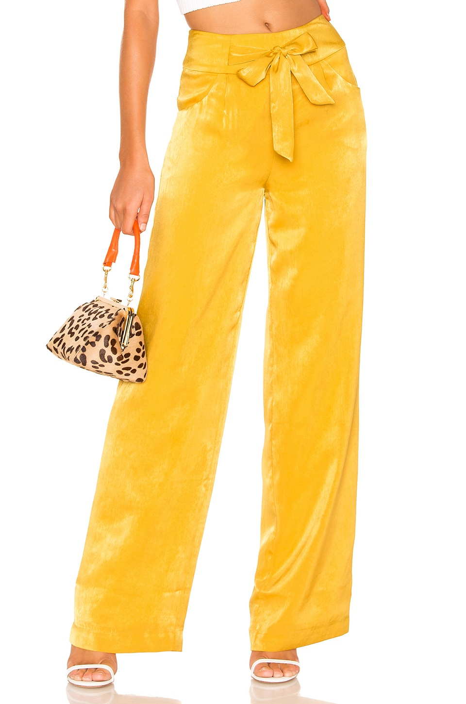 Tularosa Andre Pants in Yellow