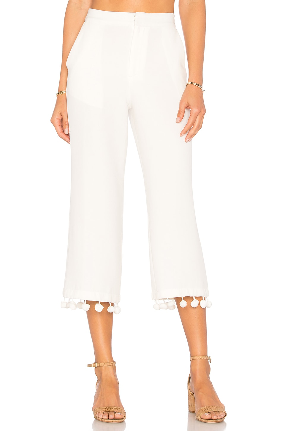 Tularosa x REVOLVE Huntington Pant in Bright White