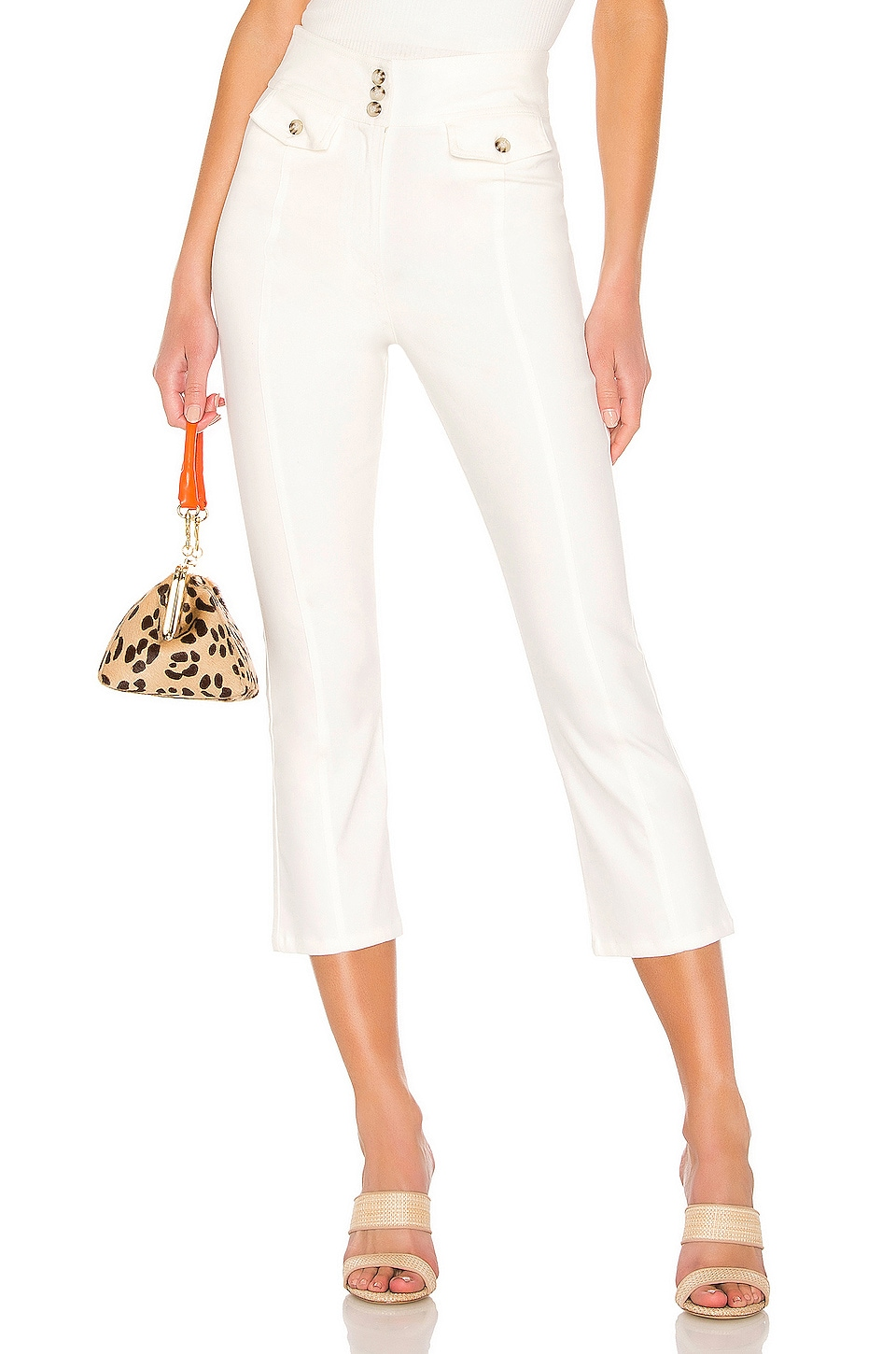 Tularosa Chelsea Pants in Ivory
