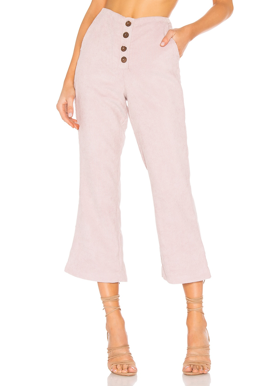 Tularosa Rachel Button Front Pant in Lavender