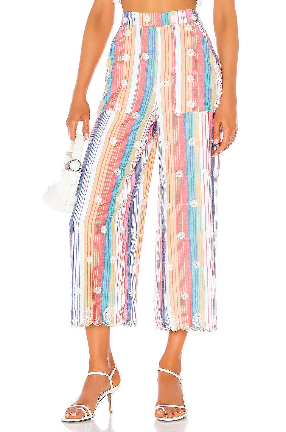 Tularosa Lois Pant in Multi Stripe