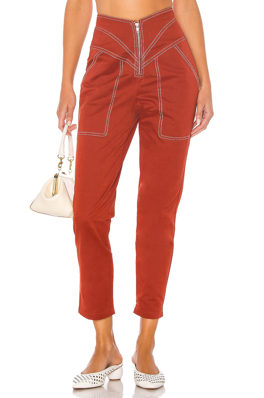 Tularosa The Solana Pant in Brick Red