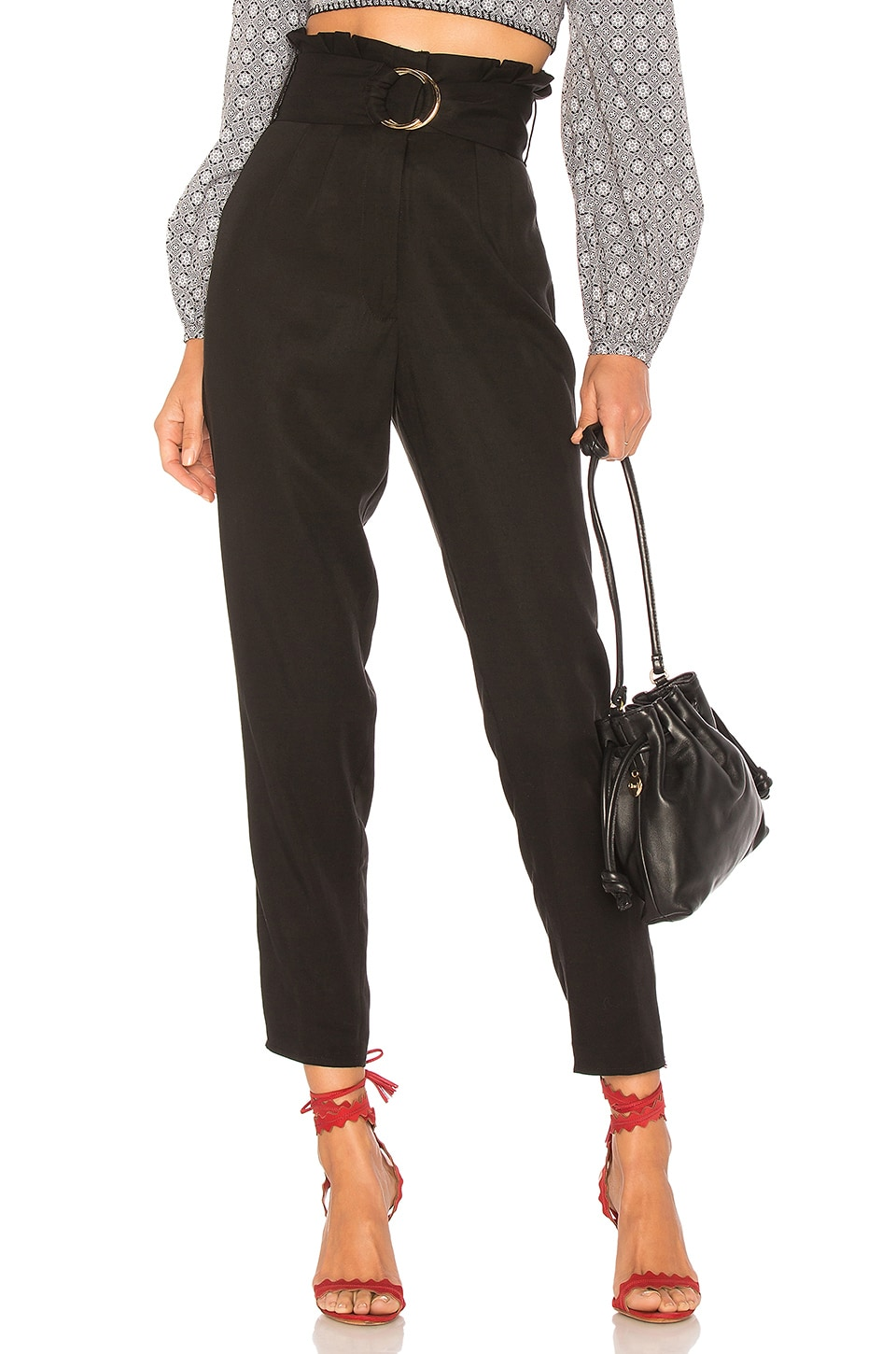 Tularosa Greyson Trousers in Black