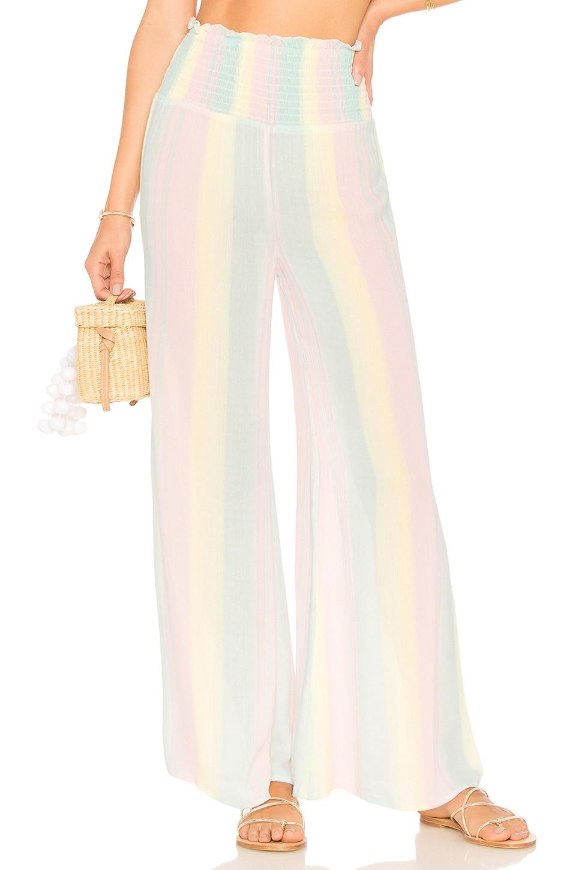 Tularosa Ava Pant in Pastel Rainbow
