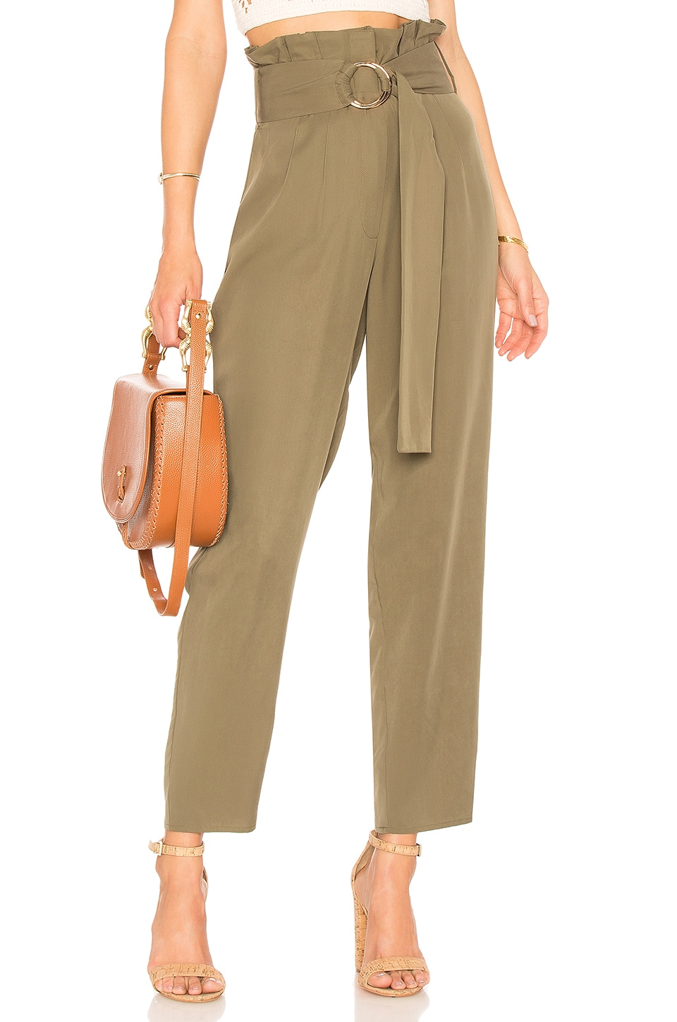 Tularosa Greyson Trouser in Olive